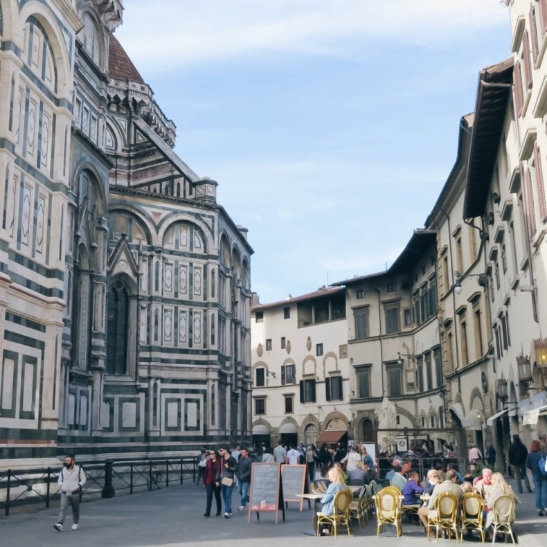 Florence, Toscane, Italië - Map of Joy