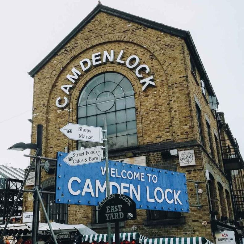 Camden Town, Cameden Lock Market, London - Map of Joy