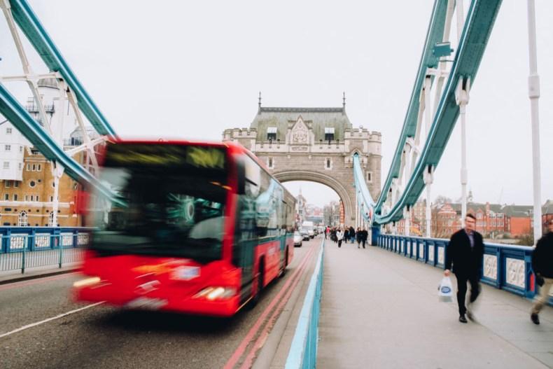 Tower Bridge, London - Map of Joy