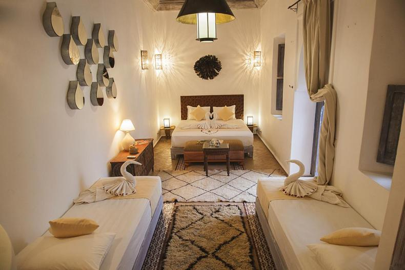 Riad De Vinci, Marrakech, leuke, goedkope accommodatie - Map of Joy