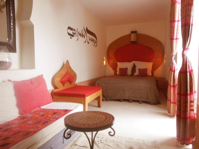 Riad Prada, Marrakech, leuke, goedkope accommodatie - Map of Joy