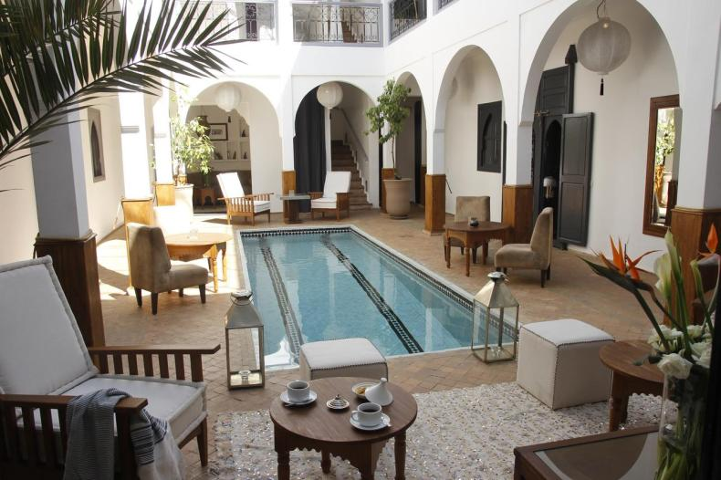 Riad Utopia, Marrakech, leuke, goedkope accommodatie - Map of Joy