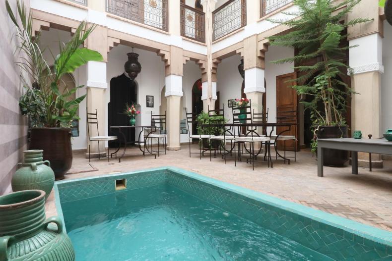 Riad Zenithya, Marrakech, leuke, goedkope accommodatie - Map of Joy