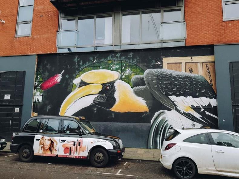 Big Birds, Howard Street, Glasgow - Map of Joy