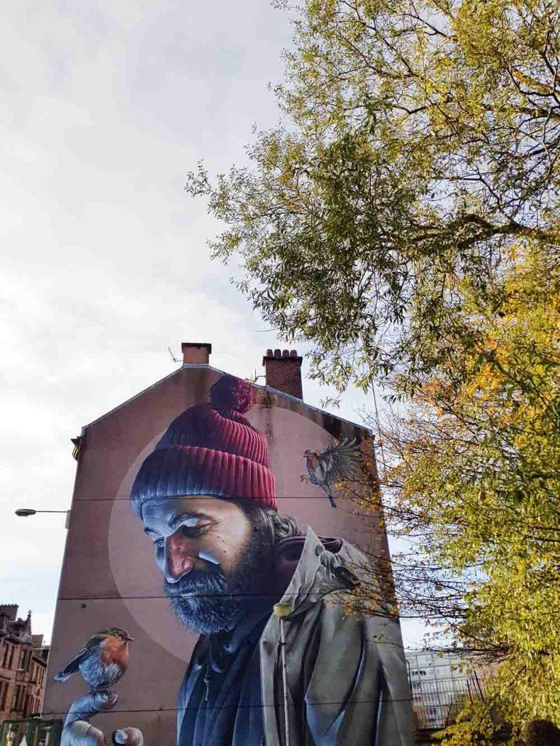 St. Mungo, High Street, Glasgow - Map of Joy