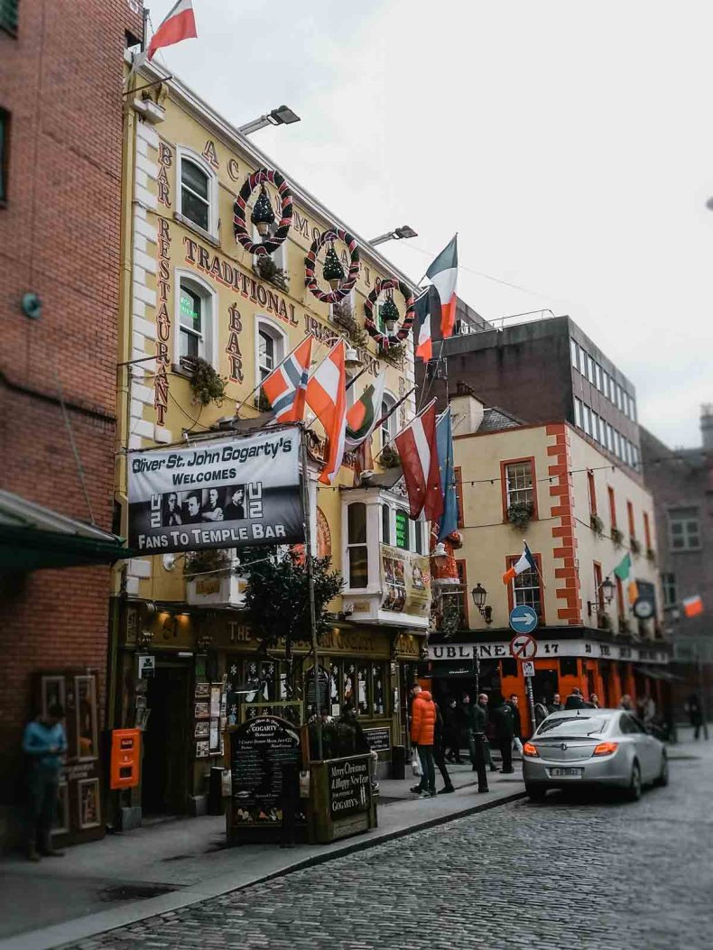 Temple Bar, Dublin - Map of Joy