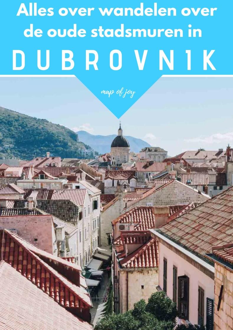 Doen in Dubrovnik: wandelen over de oude stadsmuren en bezoek Fort Lovrijenac - Map of Joy