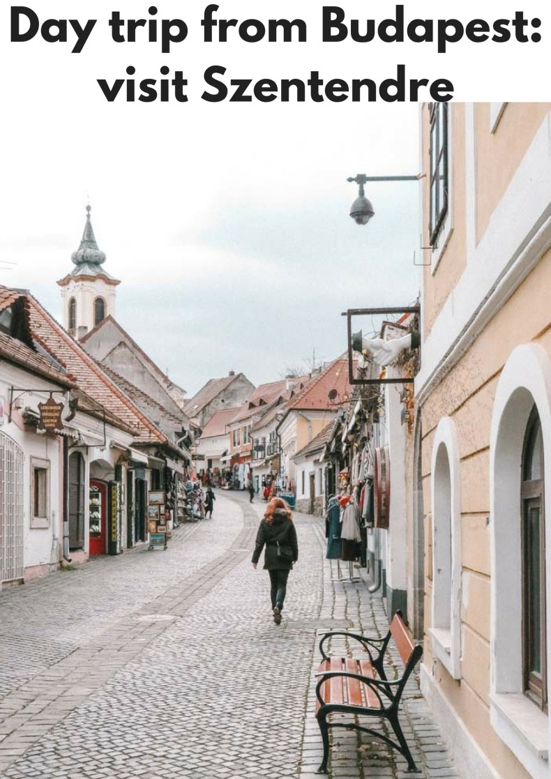 Day trip from Budapest to Szentendre - Map of Joy