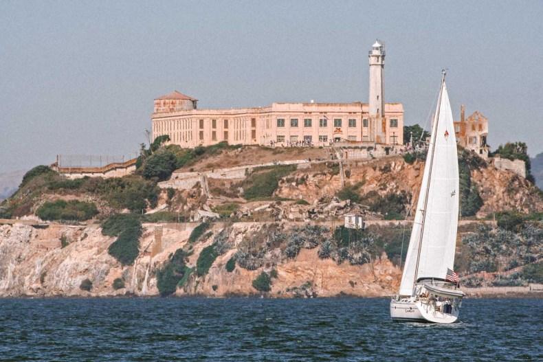 Alcatraz, zien in San Francisco - Map of Joy