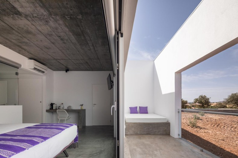 Duurzaam hotel Casa Azimute in de Alentejo, Portugal - Map of Joy