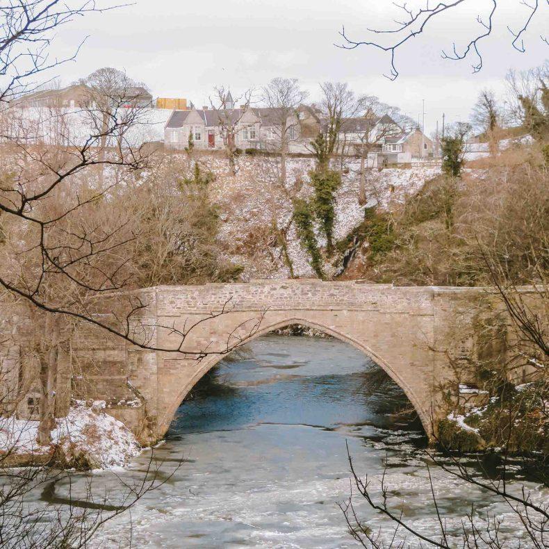 Brig o'Balgownie, Old Aberdeen - Map of Joy