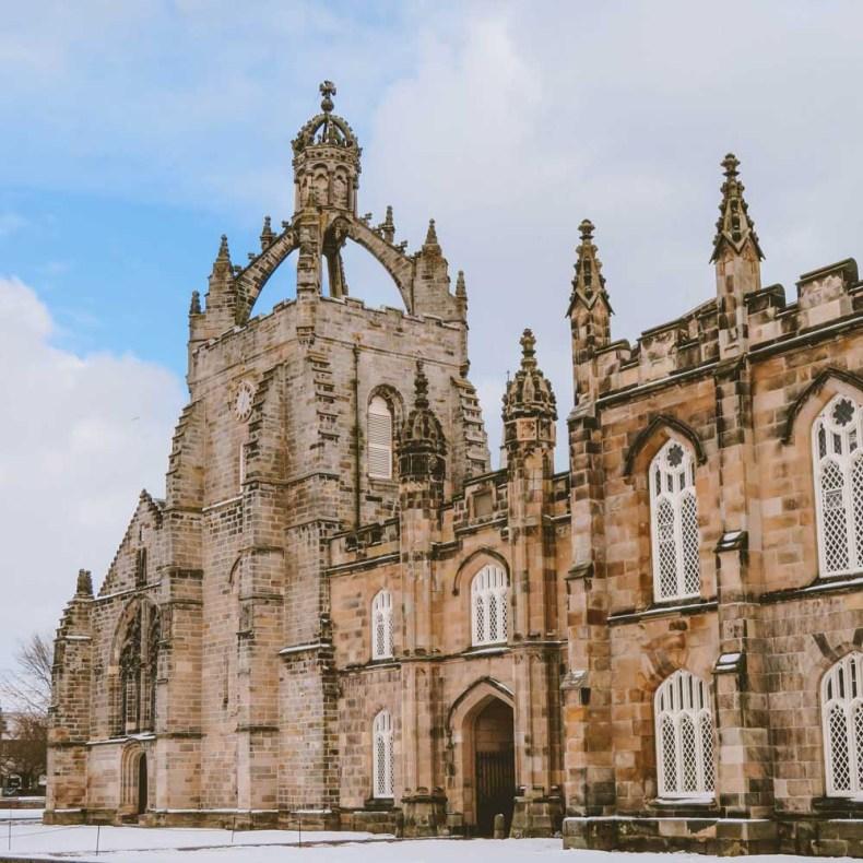 Universiteit van Aberdeen, Schotland - Map of Joy