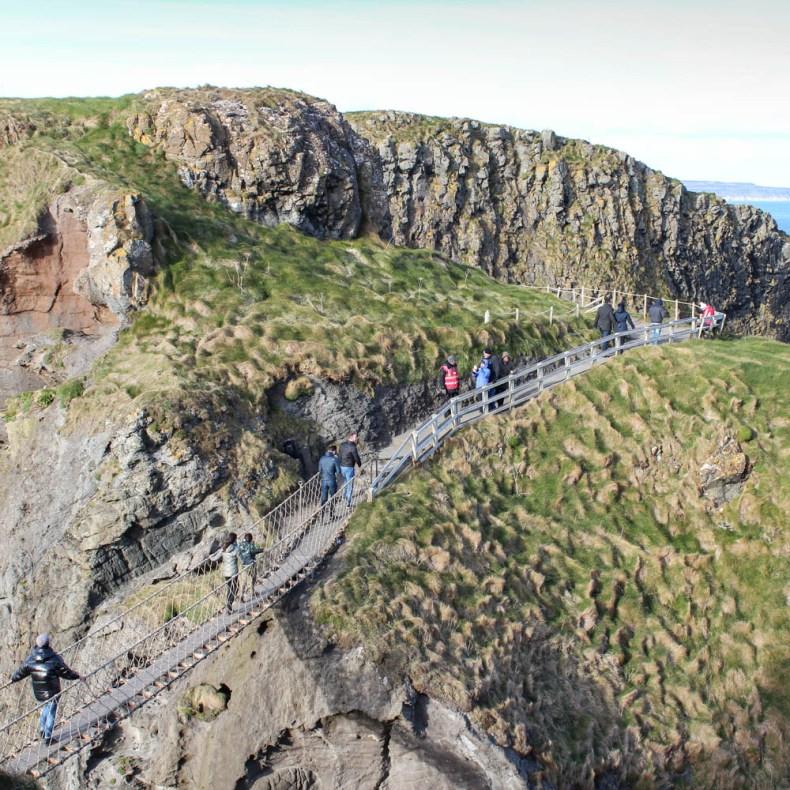 Carrick-a-Rede rope bridge, Noord-Ierland - Map of Joy