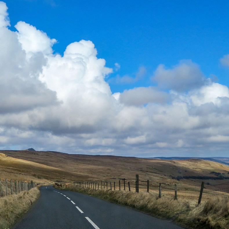 Noord-Ierland, binnenland, scenic route - Map of Joy