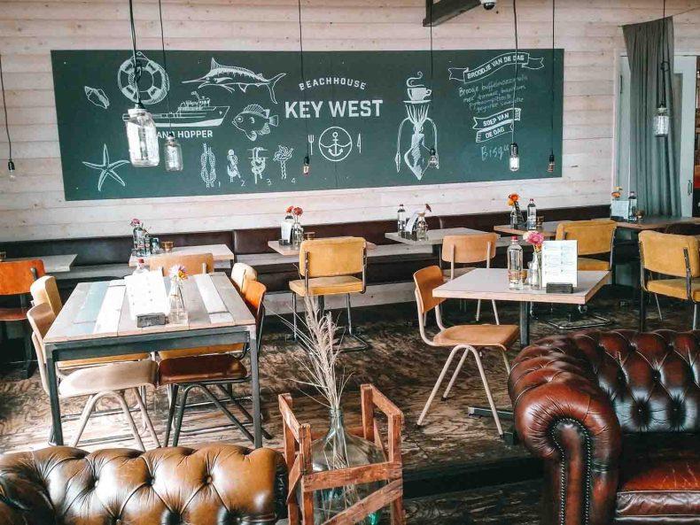 Key West restaurant Utrecht - Map of Joy