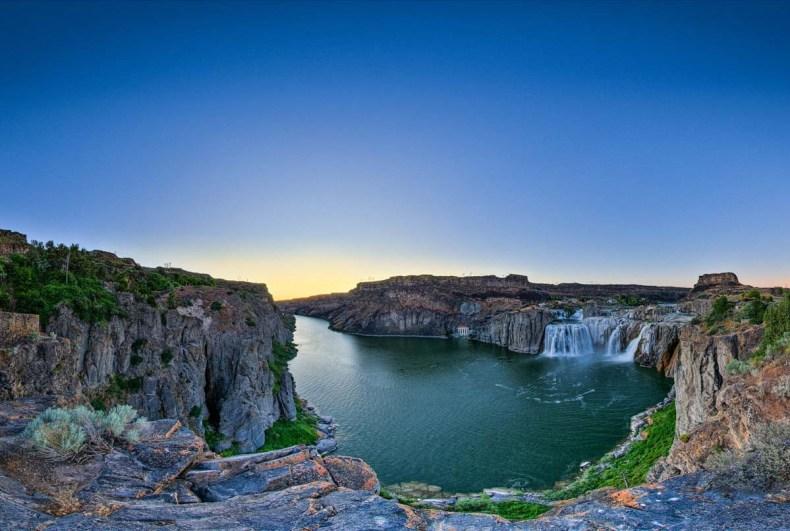Shoshone Falls, Idaho, Amerika