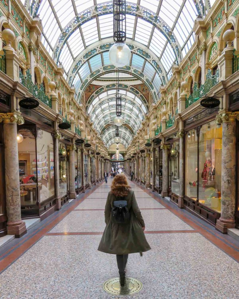 County Arcade, leuke dingen doen in Leeds - Map of Joy
