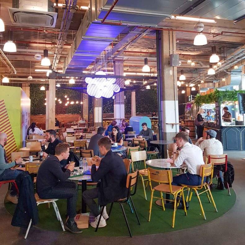 Trinity Kitchen, leuke dingen doen in Leeds - Map of Joy