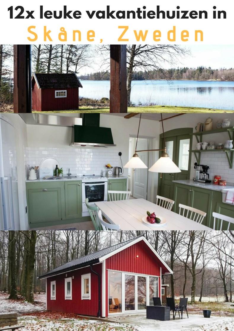 12x leuke vakantiehuizen in Skåne, zweden - Map of Joy