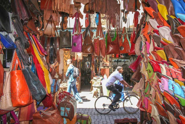 Souks, Medina, 15x leuke dingen doen in en vanuit Marrakech - Map of Joy