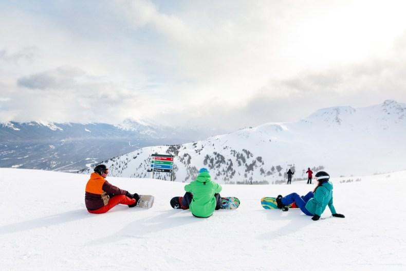 Skiën in Marmot Basin - Map of Joy