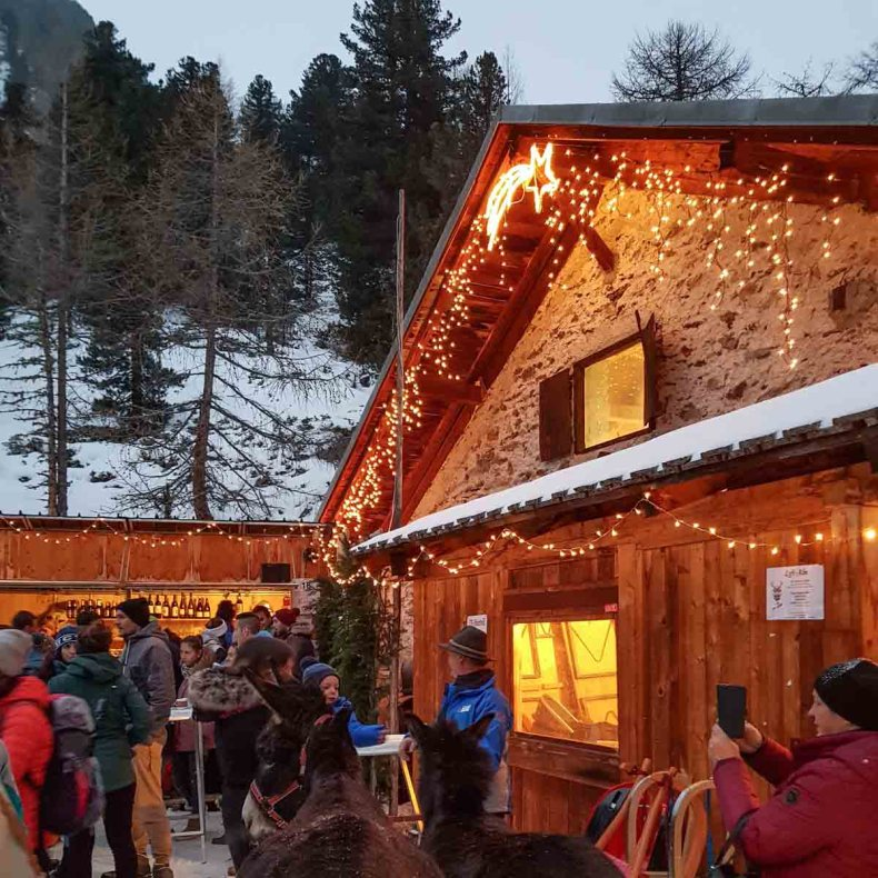 Hoogste kerstmarkt Europa, Zuid-Tirol - Map of Joy