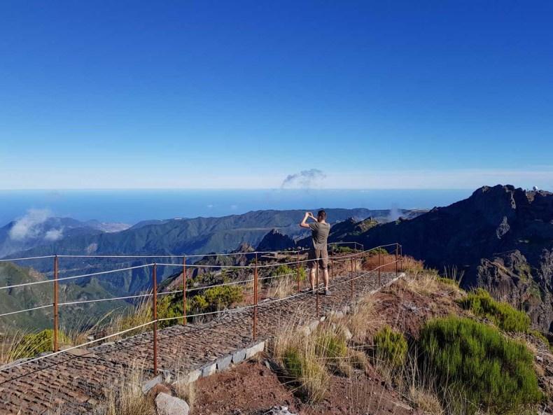 makkelijke wandeling Madeira, Vereda Do Pico Ruivo - Map of Joy