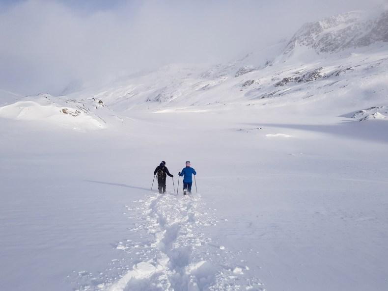 Sneeuwschoenwandelen naar de Schnalstaler gletjser - Map of Joy