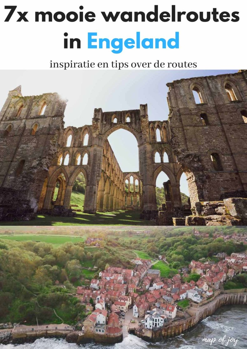 7x mooie wandelroutes in Engeland - Map of Joy