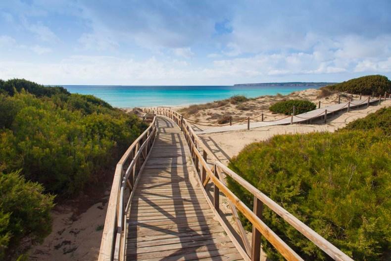 Wandelen en fietsen op Formentera