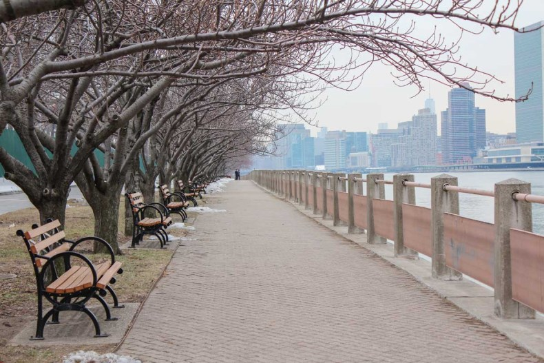 13x leuke parken in New York [en wat je er kunt doen], Roosevelt Island - Map of Joy