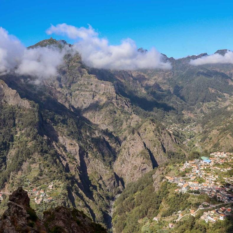 Mooiste bezienswaardigheden op Madeira [roadtrip route], Nun's Valley - Map of Joy