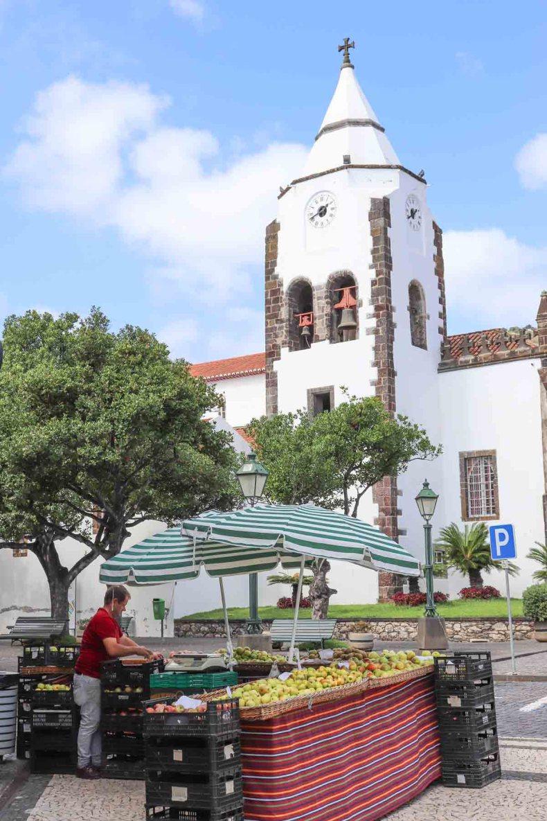 Santa Cruz, Madeira - Map of Joy