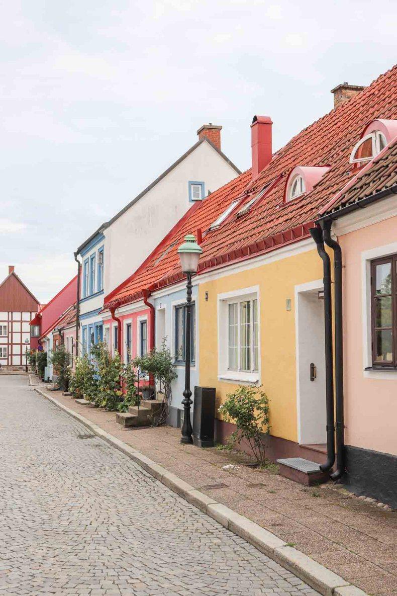 Ystad, mooiste bezienswaardigheden in Skåne aan de kust [roadtrip route] - Map of Joy