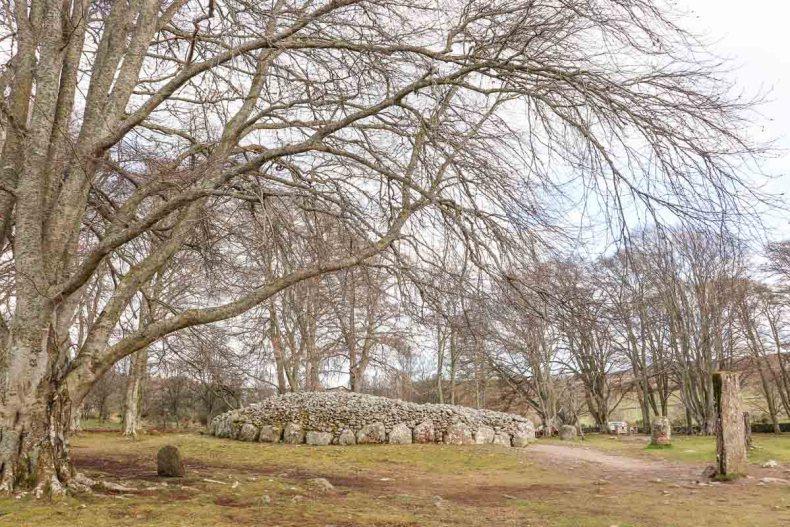 De leukste dingen om te doen in en rond Inverness, Clava Cairns- Map of Joy