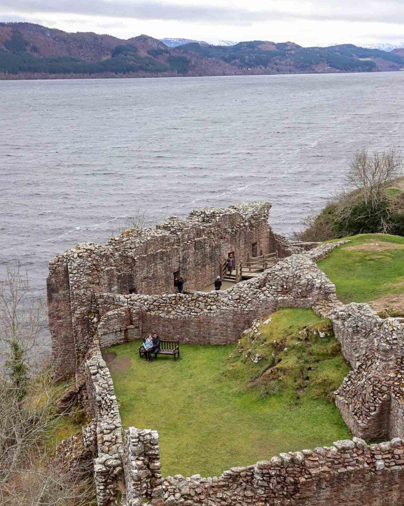 De leukste dingen om te doen in en rond Inverness, Urquhart Castle- Map of Joy
