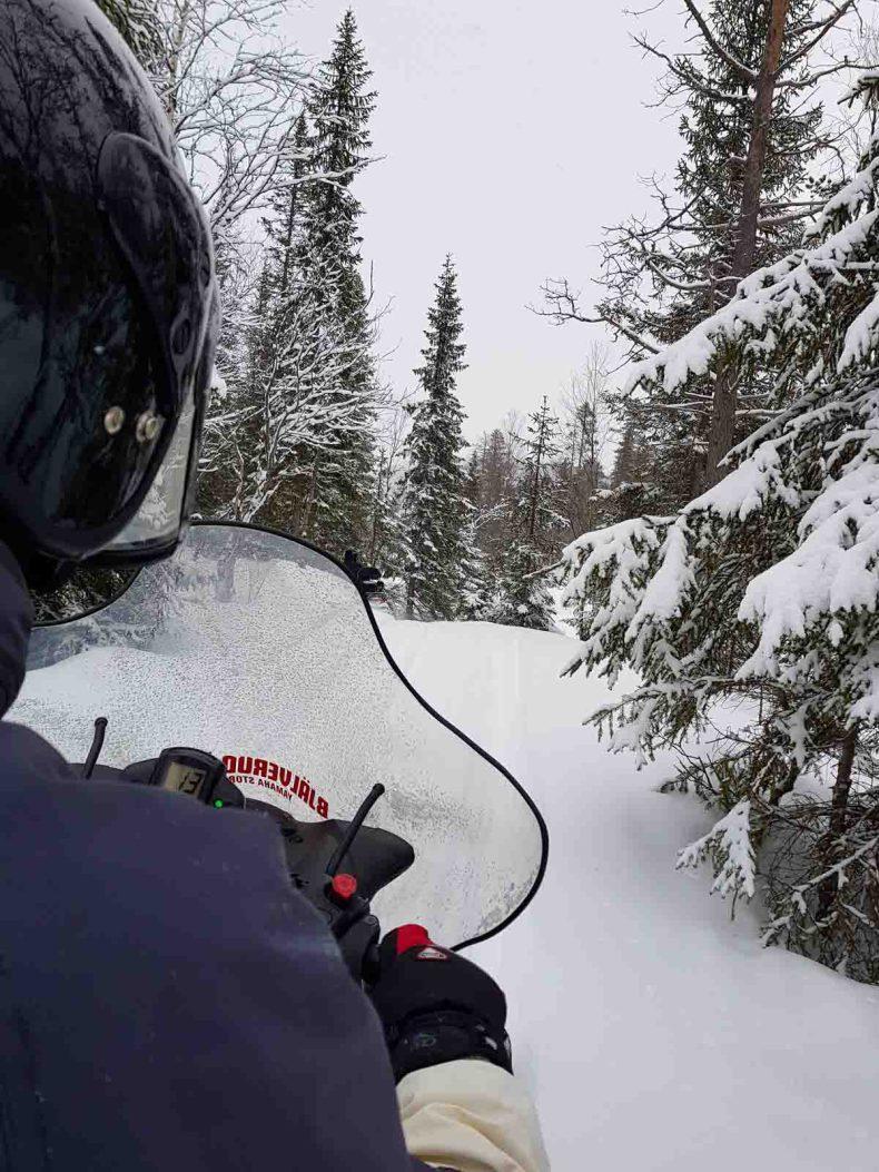 sneeuwscootersafari in Värmland - Map of Joy
