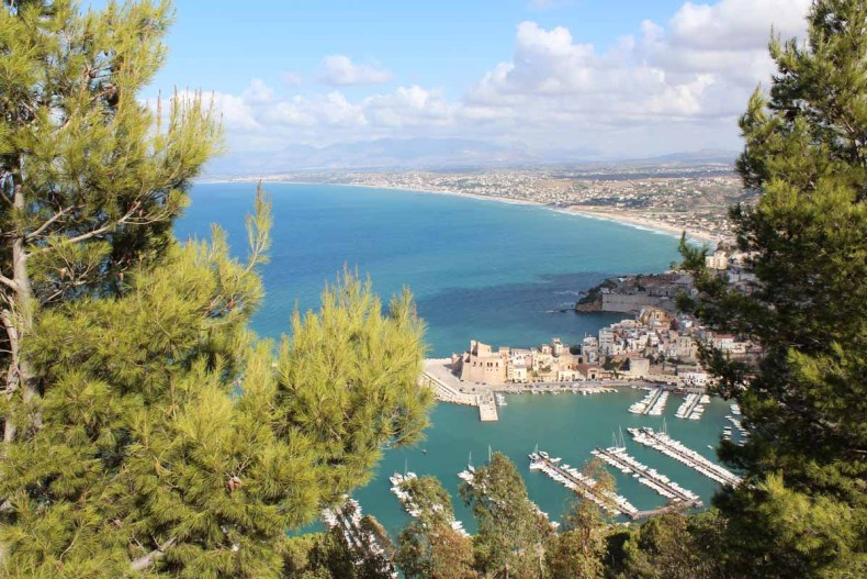 De mooiste plekken van Noord-Sicilië [roadtrip route], Castellammare del Golfo - Map of Joy