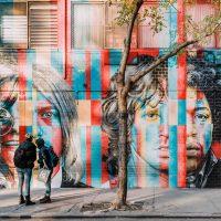 Mooiste street art in The Lower East Side, Manhattan