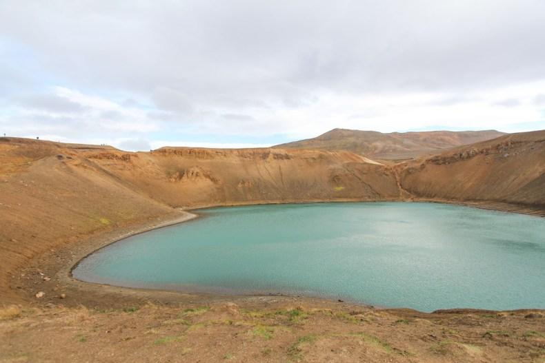 Viti Krater, mooiste bezienswaardigheden rond Mývatn [roadtrip route] - Map of Joy