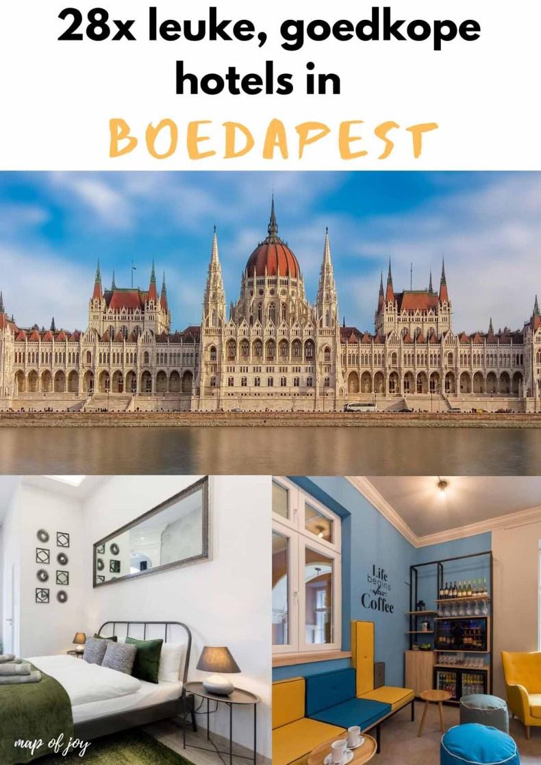 28 leuke, goedkope hotels in Boedapest - Map of Joy