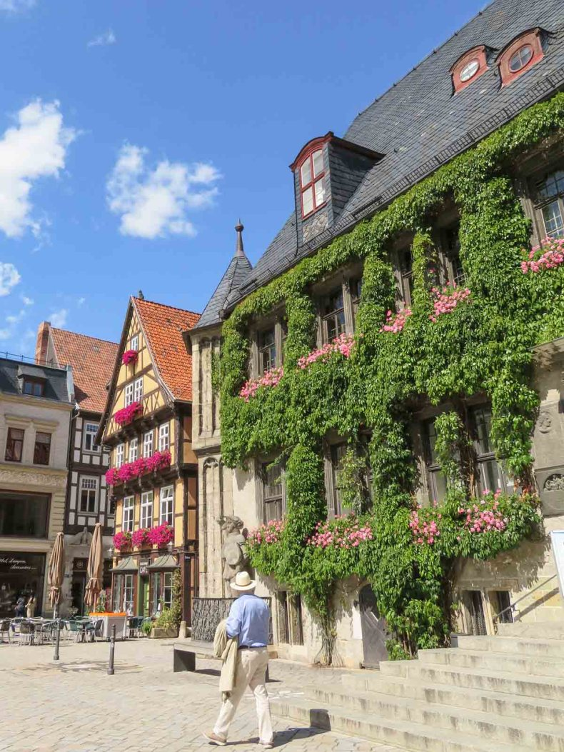4x de mooiste steden in de Harz, Quedlinburg - Map of Joy