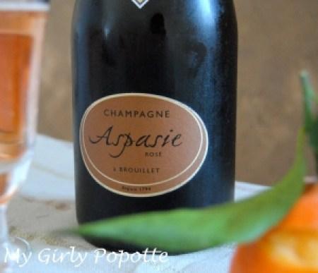 Champagnes de Vignerons Aspasie my girly popotte
