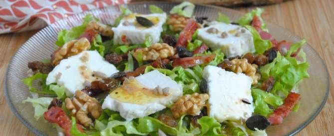 salade-au-fromage-de-chevre