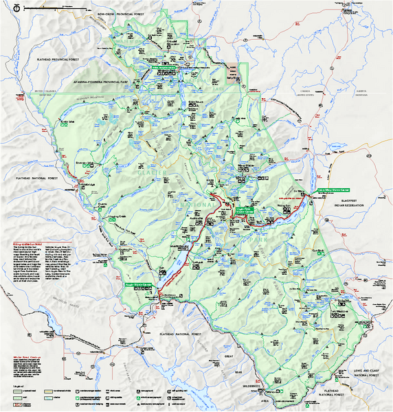 Grand Teton Natl Park Map