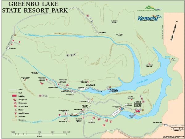 Map Caves Kentucky