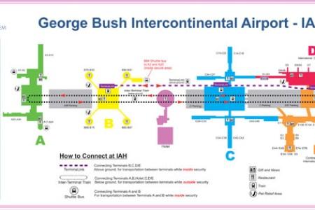 George Bush Intercontinental Airport Long Term Parking -|- nemetas ...
