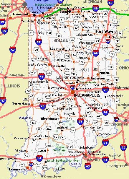 Illinois Highway Map Pdf