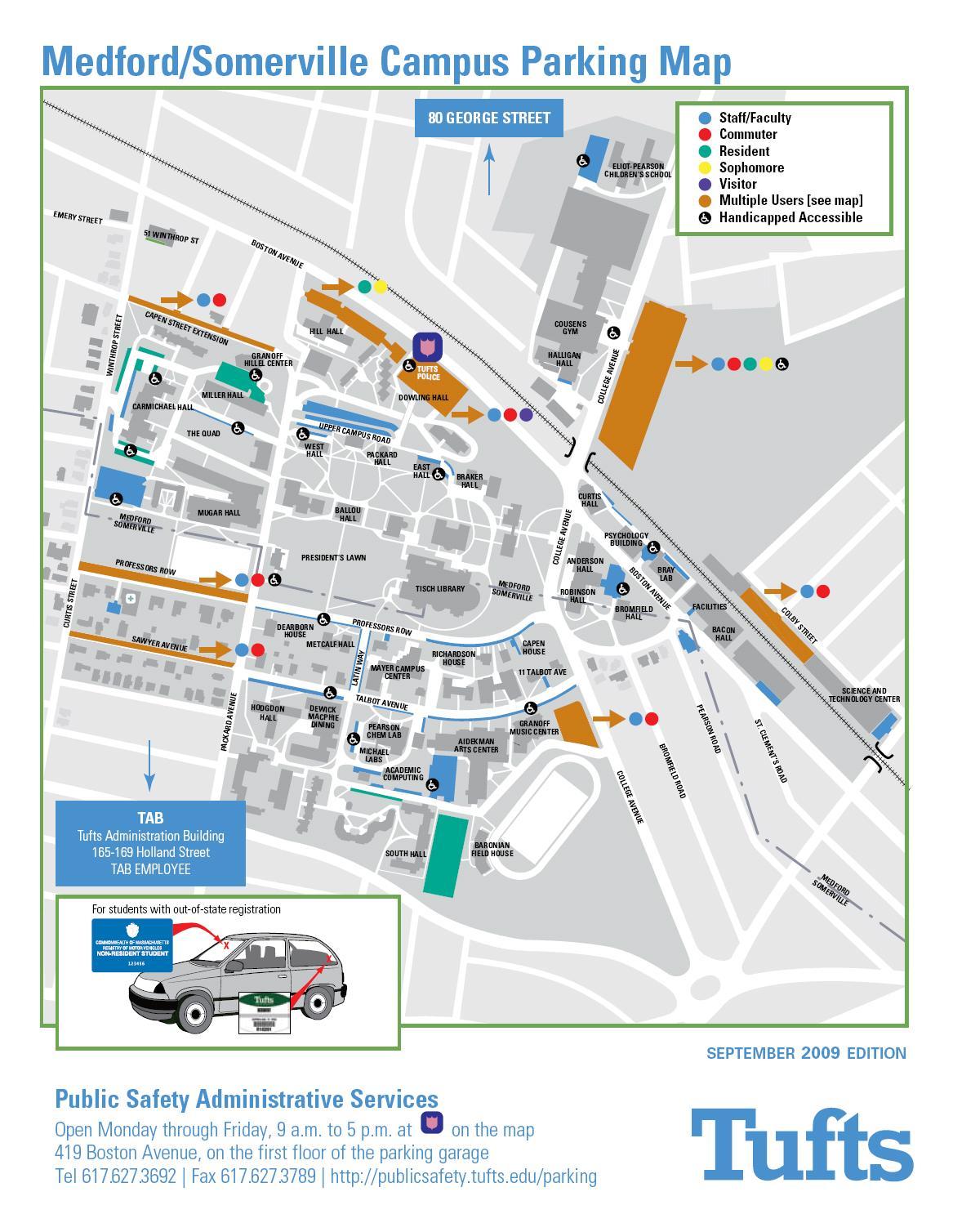 Umass Lowell North Campus Map