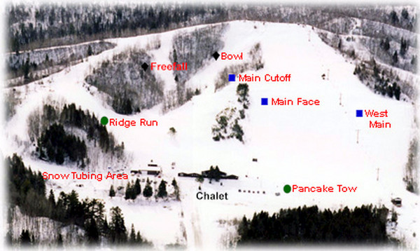 Jay Cooke Campground Map